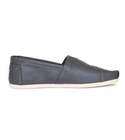 Toms for Men: Classic Tarmac Olive Coated Canvas