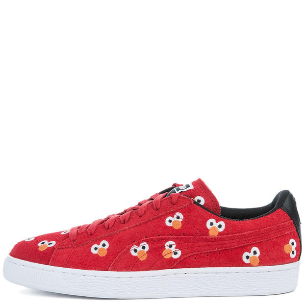save off 54f7d 94ae1 Unisex Puma x Sesame Street Suede Red Sneaker