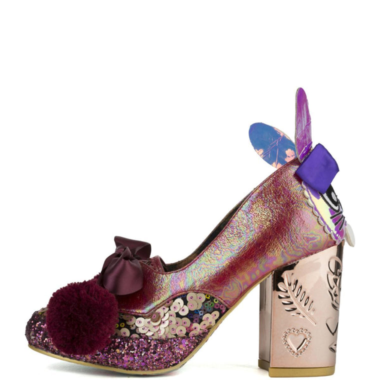 Irregular Choice for Women: Snuggle Bunnie Red Heels