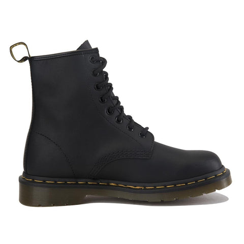 "Dr. Martens Unisex: 1460 Black ""Greasy"" Boots"