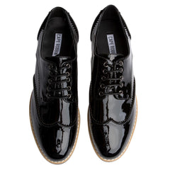 Cape Robbin Venus-1 Black Women's Oxford