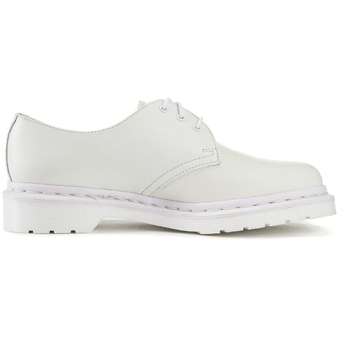 Dr. Martens Unisex: 1461 Mono All White Oxfords