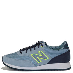 New Balance for Women: 620 Classic Grey/Blue Sneakers