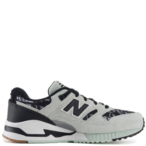 New Balance for Women: 530 Summer Utility Seafoam Black & White Sneakers