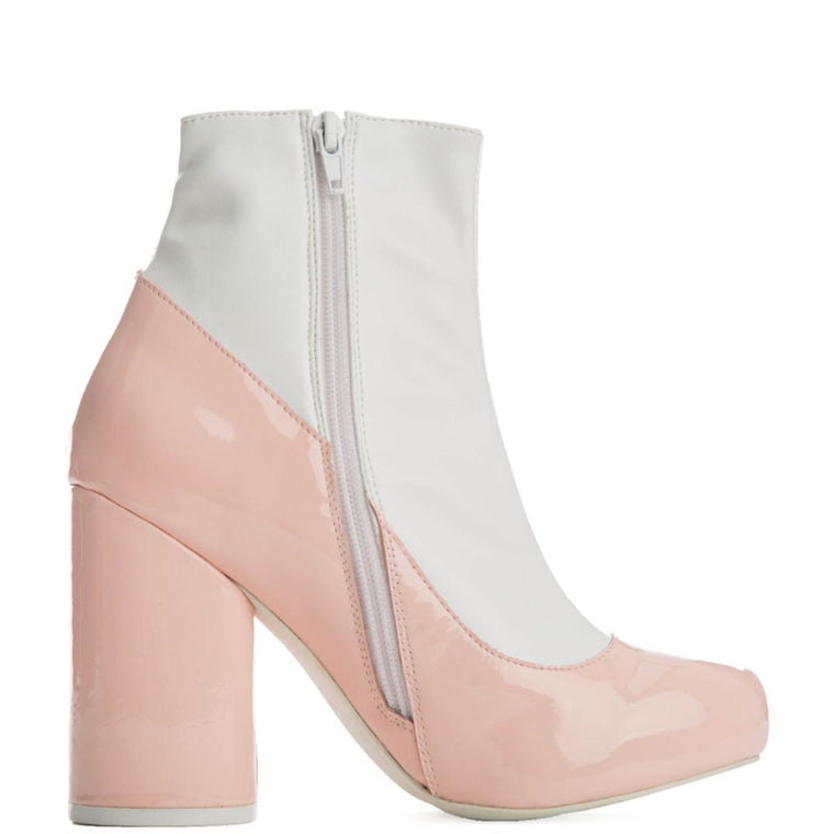 Jeffrey Campbell for Women: Sequel-2 Pink Heel Booties