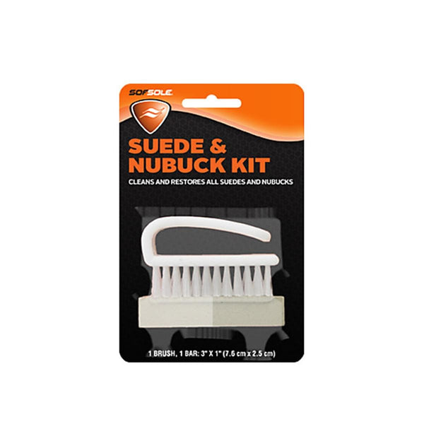 The SOFSOLE Nubuck Suede Brush Cleaner
