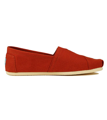 Toms for Men: Classic Picante Red Canvas