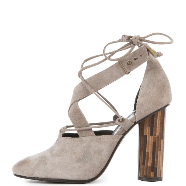 Free People for Women: Nouvella Wrap Taupe Heels
