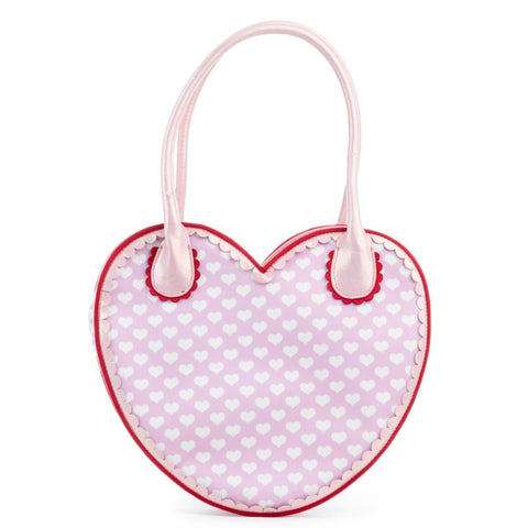 Irregular Choice Mickey Mouse & Friends Collection Women's Love N Kisses Pink Bag