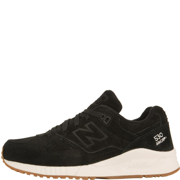 reasonable price factory authentic authorized site New Balance for Women: 530 Lux Black Suede Sneakers