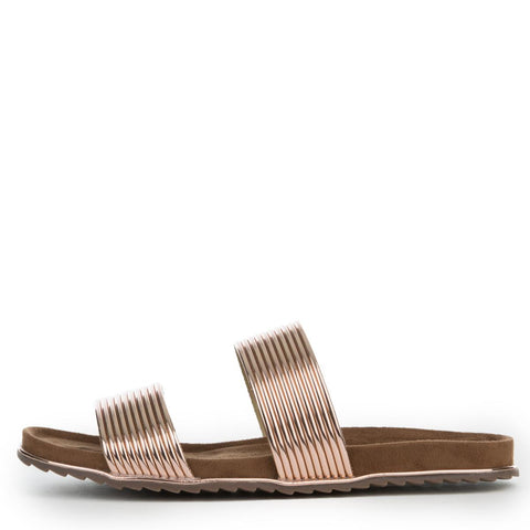 Cape Robbin Alisa-1 Women's Rose Gold Sandals