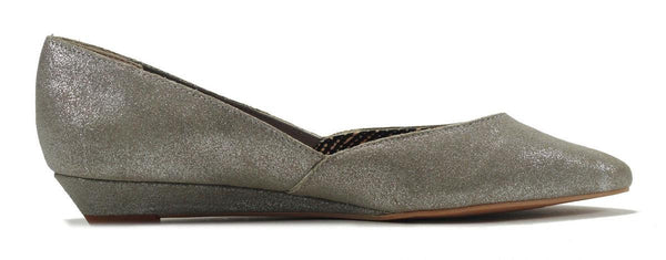 Seychelles for Women: Skip a Beat Silver Metallic Flat