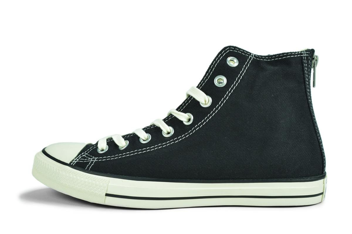 Converse for Men: CT Back Zip Hi Black Sneaker