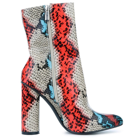 Women's BOAS High Heel Ankle Boots