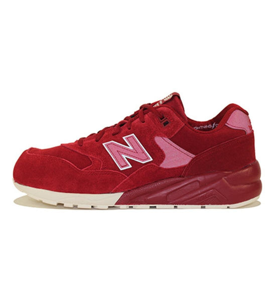 New Balance for Men: 580 Lifestyle Red Sneakers