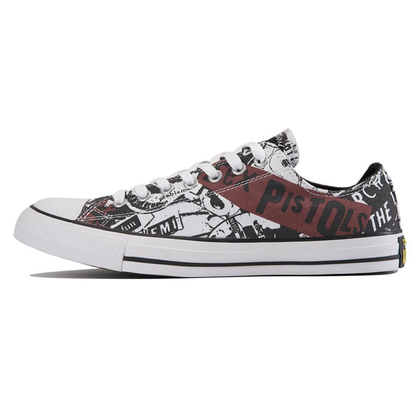 best loved aca82 96b1d Converse Unisex: Chuck Taylor All Star Sex Pistols White Sneakers