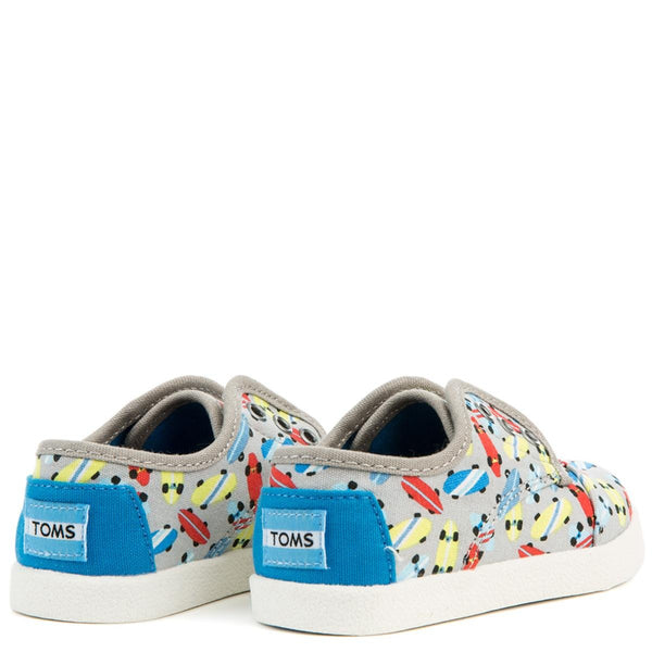 Tiny Toms Skateboard Drissle Grey Paseo Sneakers
