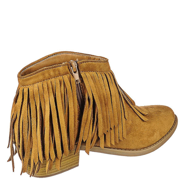 Women's Jervis Fringe Ankle Boot