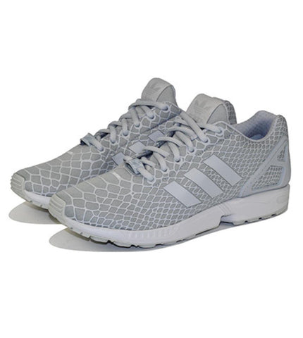 adidas for Men: ZX Flux Techfit Grey Sneakers