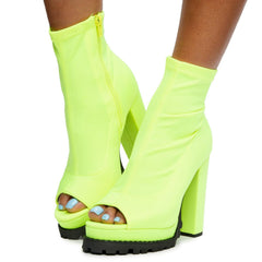 Monclair-21 High Heel Booties