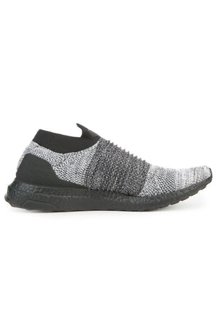 The Men's Ultraboost Laceless LTD in Core Black and White