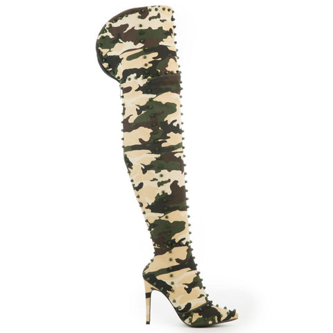 Cape Robbin Women's Mini-33 Camo Boots