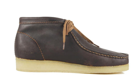 Clarks for Men: Wallabee Beeswax Boot