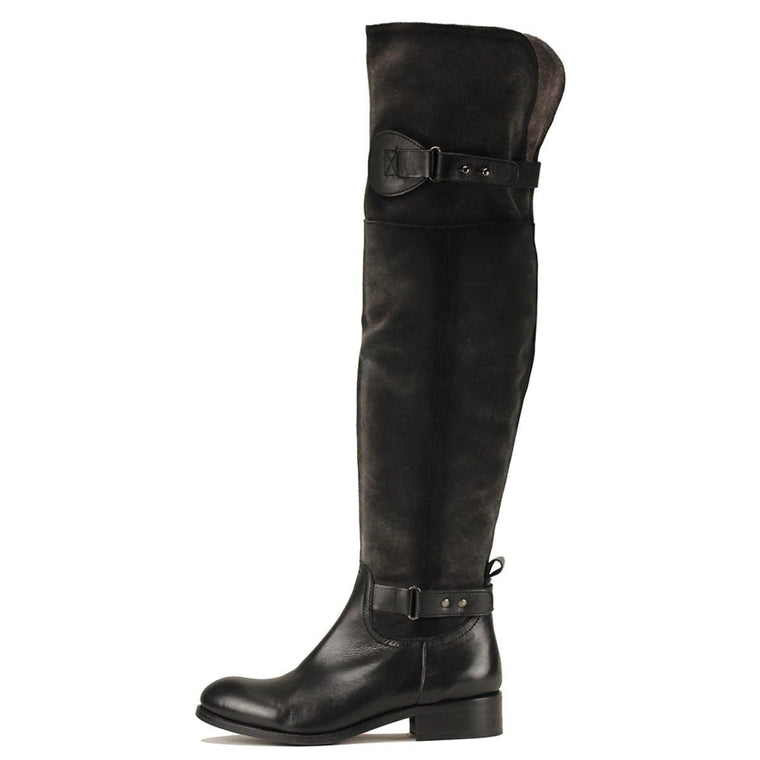 Luichiny for Women: Fifty Fifty Black Boots