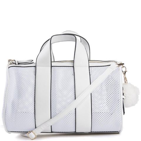 Women's Trim Mesh Duffle Bag