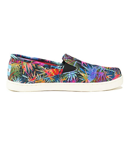 Toms for Kids: Avalon Sneaker Rainbow Venice Palms