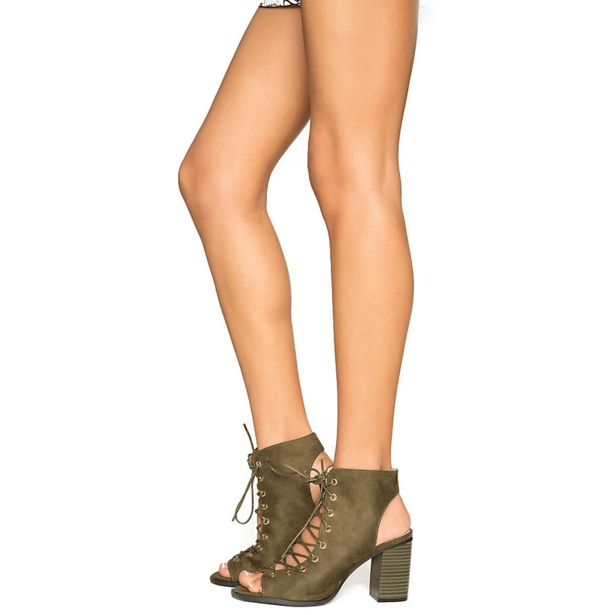 carrie lace up boots