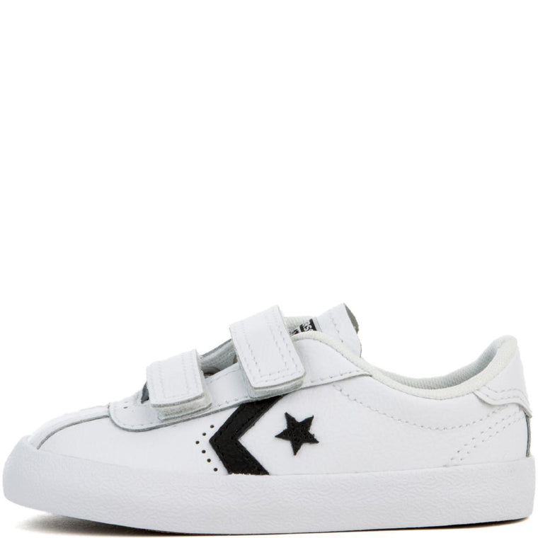 Converse Breakpoint 2V Toddler White Sneaker