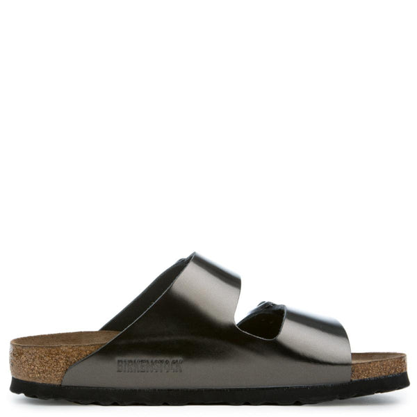 Birkenstock Arizona Soft Footbed Women's Metallic Sandals