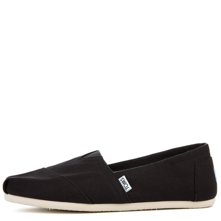 Toms Classic Black Canvas Men's Flats
