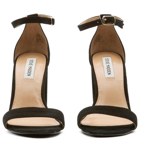 Steve Madden for Women: Carrson Black Suede Heels