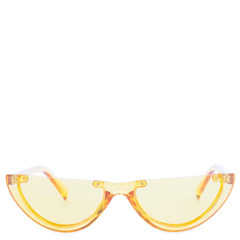 Yellow Half Sunglasses