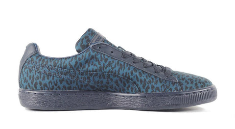 Puma for Men: Basket Classic XHOH Jacquard Teal Black Sneaker