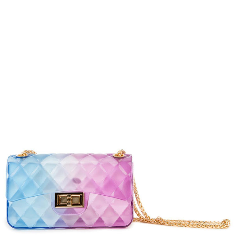Women's Quilted Chain Crossbody