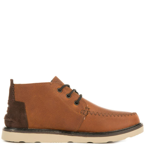 Toms for Men: Chukka Brown Waterproof Boots
