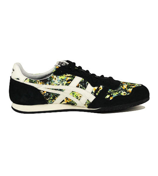 Onitsuka Tiger Unisex: Serrano Floral Black & Slight White Sneaker