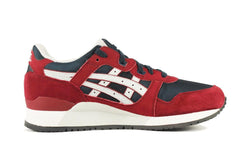 Asics for Men: Gel-Lyte III Burgundy Soft Grey Sneaker