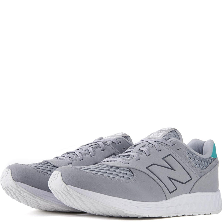 New Balance Unisex: 574 Fresh Foam Breathe Light Grey Running Shoes
