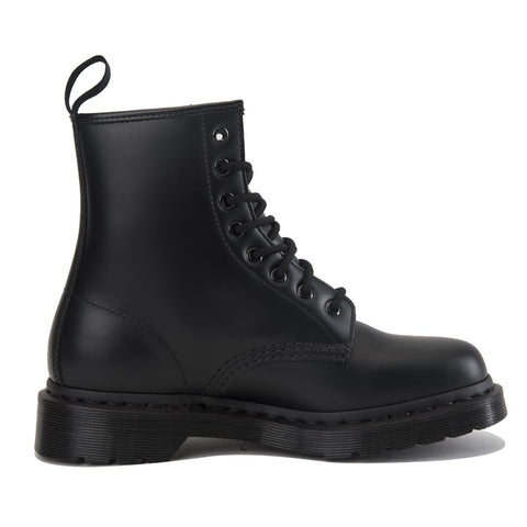 "Dr. Martens Unisex: 1460 Mono Black ""Smooth"" Boots"