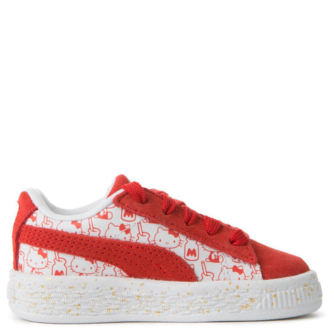 TODDLER  PUMA SUEDE X HELLO KITTY