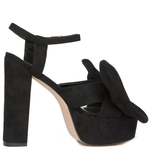 Privileged by J.C. Dossier for Women: Josie Black Platform Heels