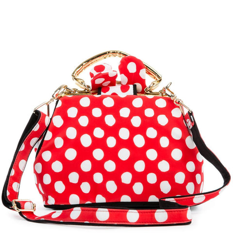 Irregular Choice Mickey Mouse & Friends Collection Women's I Heart Minnie Red Bag