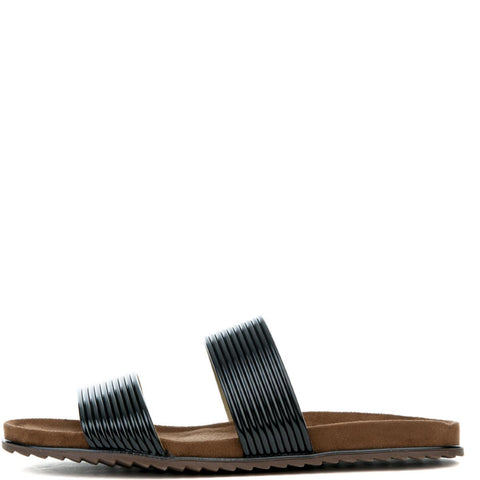 Cape Robbin Alisa-1 Black Women's Sandal