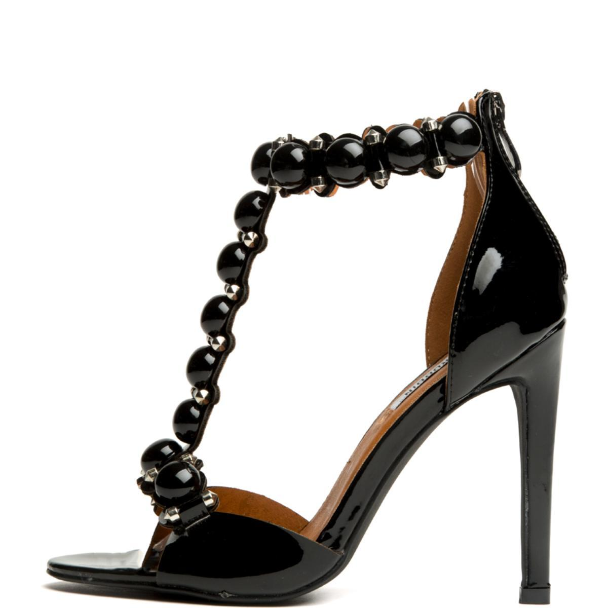 Cape Robbin Alza-40 Black Women's High Heel