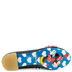 Irregular Choice Mickey Mouse & Friends Collection Women's Why Hello Black Flat