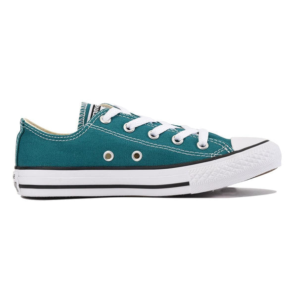 Converse for Kids: Chuck Taylor All Star Ox Rebel Teal Sneaker